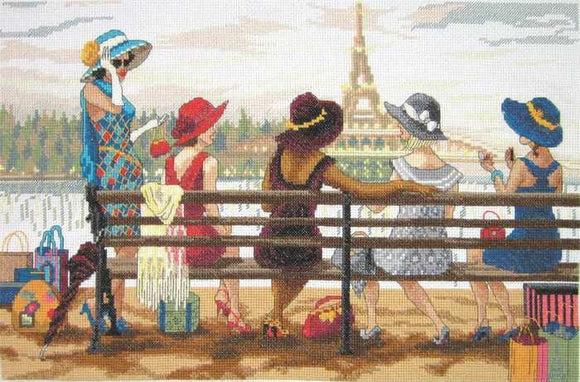 Ladies Day Out Cross Stitch Kit by Janlynn