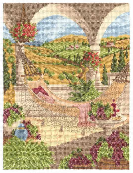 Harvest Celebration Cross Stitch Kit by Janlynn