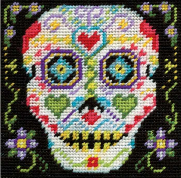 Skull Tapestry Kit by Design Works