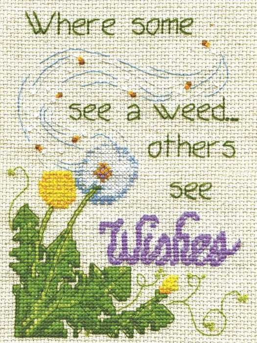 Dandelion Wishes Cross Stitch Kit by Design Works