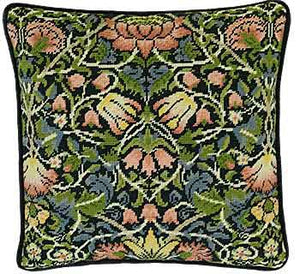 Bell Flower William Morris Tapestry Cushion Kit By Bothy Threads