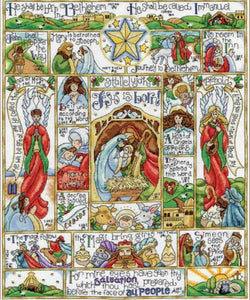Nativity Story Cross Stitch Kit by Design Works