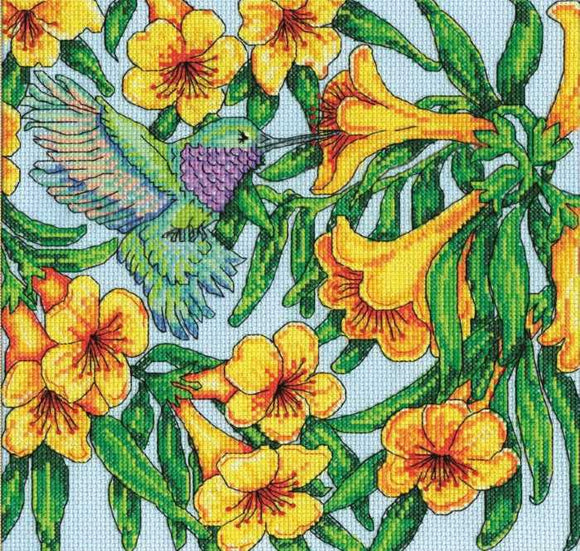 Humming Bird Cross Stitch Kit by Design Works