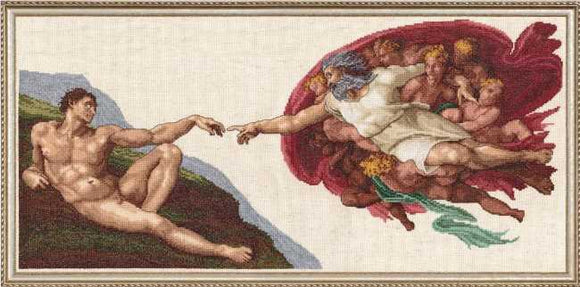 The Creation Cross Stitch Kit by Janlynn