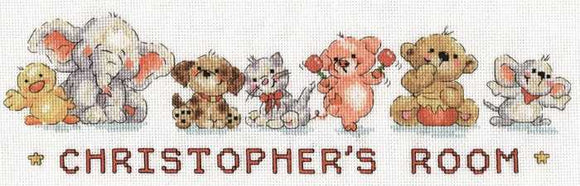 Playmates Cross Stitch Kit by Design Works