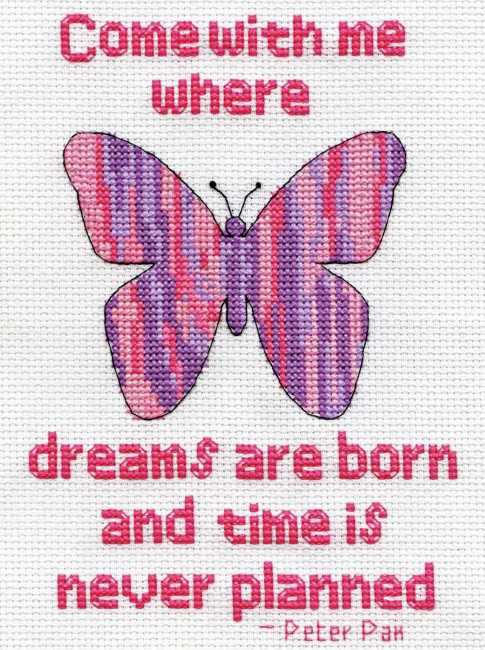 Where Dreams are Born Cross Stitch Kit by Design Works