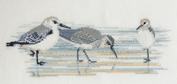 Waders Cross Stitch Kit by Derwentwater Designs