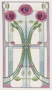 Rose Bouquet Cross Stitch Kit by Derwentwater Designs