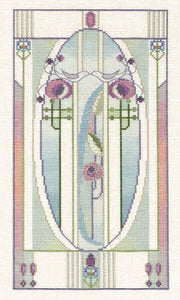 Love Birds Cross Stitch Kit by Derwentwater Designs