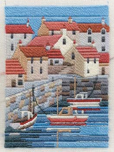 Coastal Summer Long Stitch Kit by Derwentwater Designs