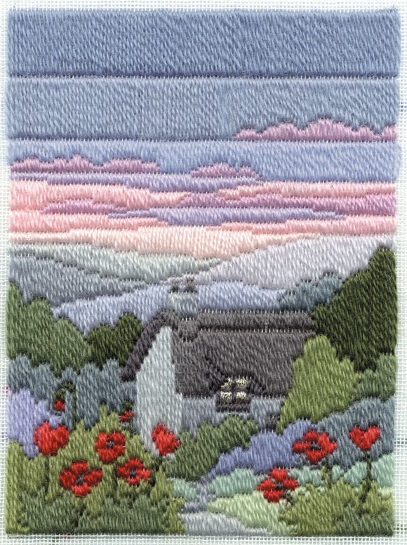 Summer Evening Long Stitch Kit by Derwentwater Designs