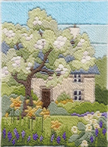 Spring Garden Long Stitch Kit by Derwentwater Designs