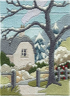 Winter Garden Long Stitch Kit by Derwentwater Designs