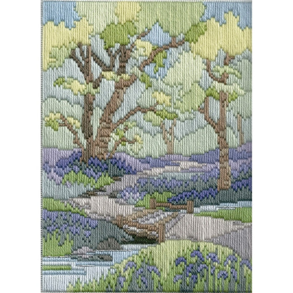 Spring Walk Long Stitch Kit by Derwentwater Designs