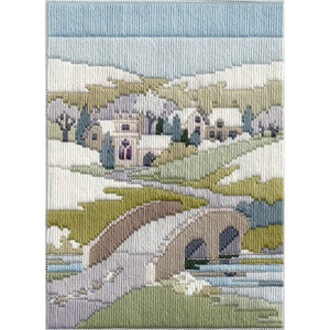 Winter Walk Long Stitch Kit by Derwentwater Designs