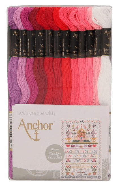 Club Assortment Stranded Cotton Pack by Anchor