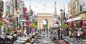 Paris Cross Stitch Kit by Luca S