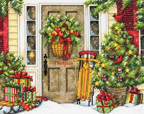 Home for the Holidays Cross Stitch Kit by Dimensions