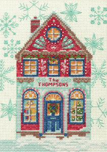 Holiday Home Cross Stitch Kit by Dimensions