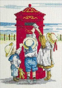 Tippy Toes All Our Yesterdays Cross Stitch Kit by Faye Whittaker