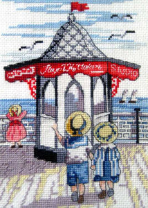 Pier Shop All Our Yesterdays Cross Stitch Kit by Faye Whittaker