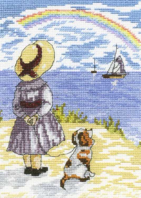Rainbows All Our Yesterdays Cross Stitch Kit by Faye Whittaker