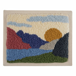 Landscape Punch Needle Kit by Trimits