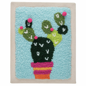 Cactus Punch Needle Kit by Trimits