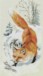 In Freshly Fallen Snow Cross Stitch Kit by PANNA
