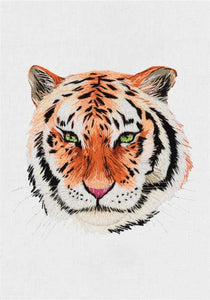 Tiger Embroidery Kit by PANNA