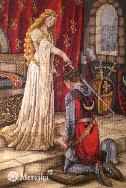 The Accolade Cross Stitch Kit by Merejka