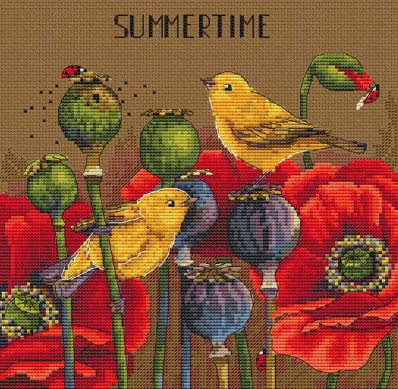 Summertime Cross Stitch Kit by Merejka