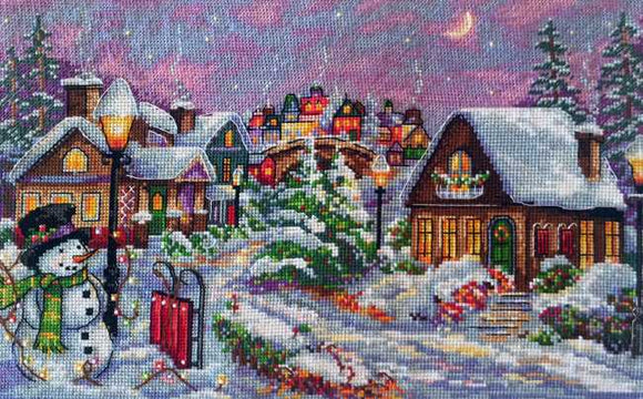 Christmas Night Cross Stitch Kit by Merejka