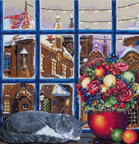 Winter Dream Cross Stitch Kit by Merejka