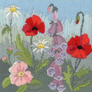 Summer Long Stitch Kit by Derwentwater Designs