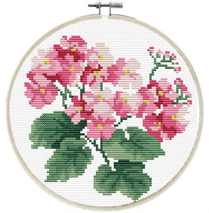 Primarvera Printed Cross Stitch Kit by Needleart World