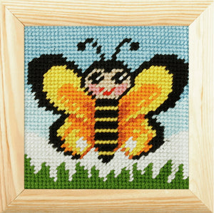 Butterfly Beginners Tapestry Kit by Orchidea