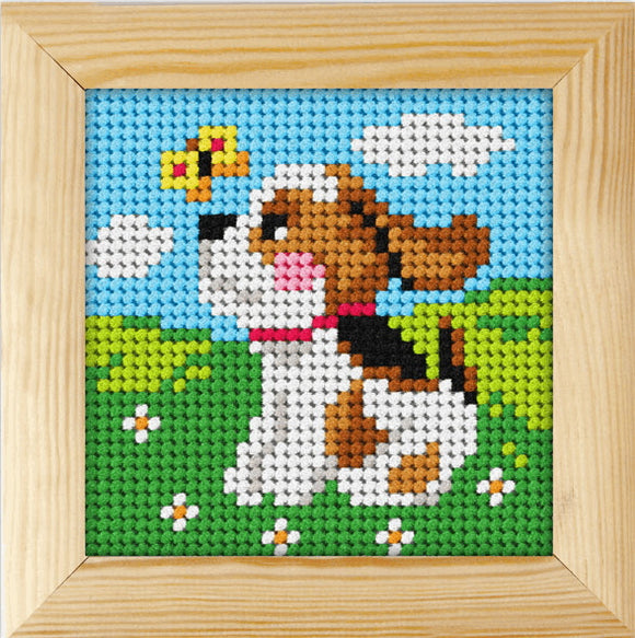 Puppy Beginners Tapestry Kit by Orchidea