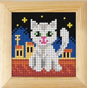 Cat Beginners Tapestry Kit by Orchidea