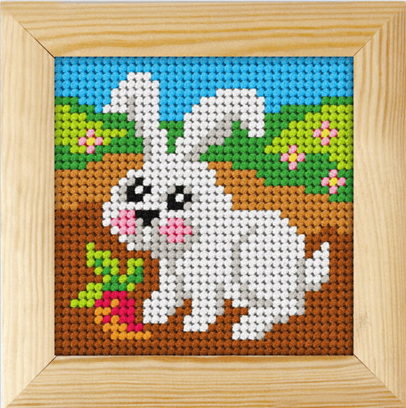 Rabbit Beginners Tapestry Kit by Orchidea