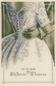 First Dance Wedding Sampler Cross Stitch Kit By Vervaco