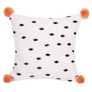 Pom Pom Drops Counted Long Stitch Cushion Kit By Vervaco