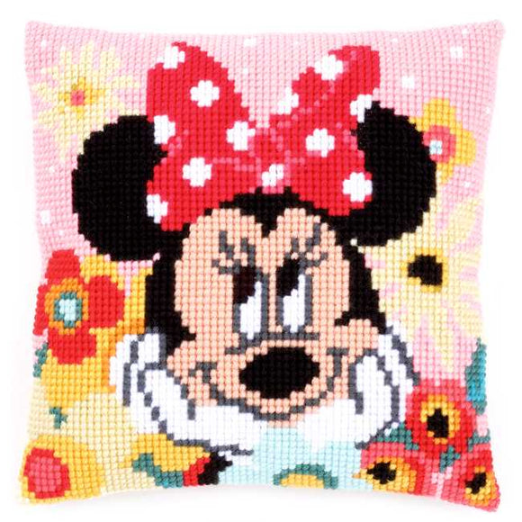 Day Dreaming Printed Cross Stitch Cushion Kit by Vervaco