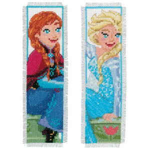 Sisters Forever Bookmark Cross Stitch Kit by Vervaco