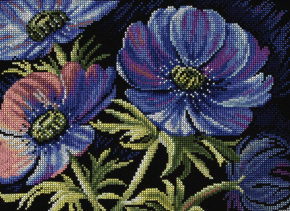 Lilac Lake Cross Stitch Kit By Lanarte