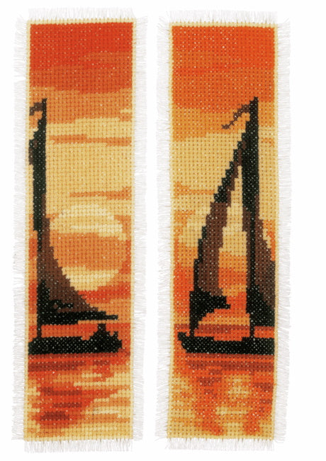 Sunset Bookmark Cross Stitch Kit By Vervaco