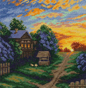 The Colours of Spring Cross Stitch Kit by PANNA