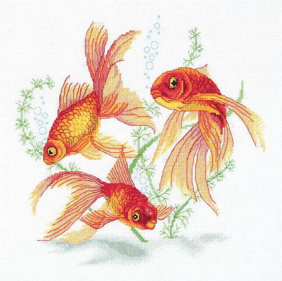 Goldfish Cross Stitch Kit by PANNA