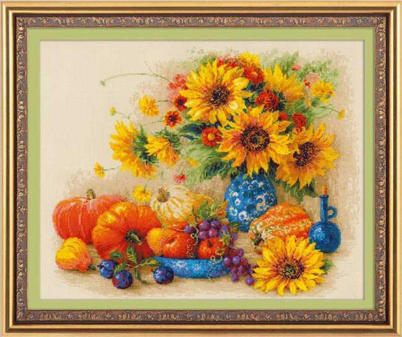 Sunny Day Cross Stitch Kit By RIOLIS