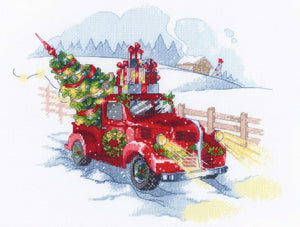 To the Holidays Cross Stitch Kit By RIOLIS